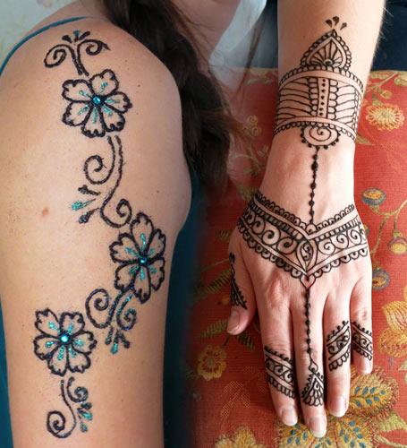 Henna, Mehndi & Glitter Tattoo Services in San Diego